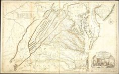 Jefferson was very proud of this map which was drawn by his father Peter and Colonel Joshua Fry and first published in 1752.
