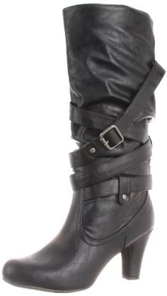 Madden Girl Women's Piinup Boot,Black Paris,9 « Shoe Adds for your Closet