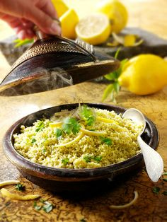 Photo of lemon and coriander couscous by Paul Williams to download