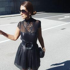 """There's something that should never miss in your wardrobe: LBD """"the little black dress"""" . This is definitely a must in a girl's closet! I wore lately this beautiful lbd for a Party. Do you already have one? 😉 Have a great day darlings 😘😘😘 . . . . . . . . #lbt #littleblackdress #partyoutfit #austrianblogger #blogger_at #blogger_de #germanblogger #bloggermexicana #fashionista #fashiongram #spanishblogger #cocktaildress #elegant #fashionblogger #photooftheday #fblogger #wiw #ootd… Girl Closet, Have A Great Day, Lbd, What I Wore, Sunglasses, Elegant, Party, How To Wear, Beautiful"""
