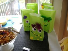 love the goody bags and cookie decorating