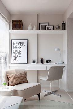 A Neutral Color Palette and Glass Elements Transform a Compact 35m2 Apartment - Design Milk