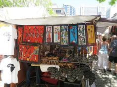 True colors from a market in Cape Town, South Africa. #VolunteerAbroad