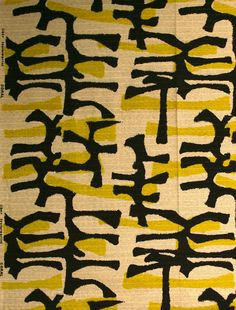 Tibor Reich | Raw Coral, manufactured by Tibor Ltd, 1954. Work #15, Textiles Collection, Whitworth Art Gallery, The University of Manchester.
