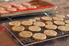 Homemade Graham Crackers from Martha Stewart