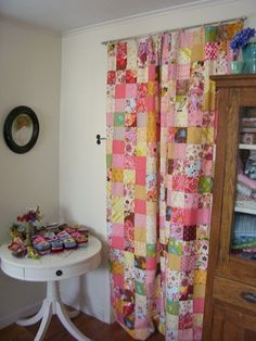 patchwork door curtain, Cozy Things