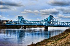Queensferry Bridge over the River Dee, Nth Wales