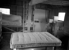 In the fall of the year we used to make mattresses. We went to the community hall, everyone in the neighborhood that needed mattresses. The gov't would furnish the cotton & the material for the mattresses, but we had instructions that showed us how to make 'em. We could make about 4 mattresses at a time…By the time we got finished, everyone [had] a mattress…We'd take our lunch & stay all day. We were pretty tired at the end of the day. — Mabel Hageman (Wyoming State Archives P2008-10/89…
