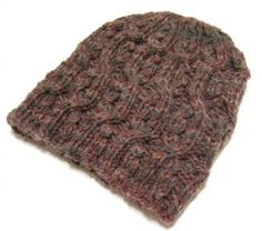 Cable With A Twist Hat - loving this twisted beanie! #freepattern #knitting