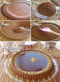 ÇİKOLATALI TART KEK TARİFİ http://kadincatarifler.com/cikolatali-tart-kek-tarifi