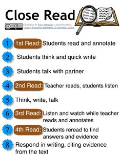 Don't agree with the teacher always doing a 2nd read. Kids will expect this and not do a good 1st read. Also, it isn't realistic in the real world. Teach them the strategies so that they learn to navigate a difficult text on their own. Now, you've done your job!!  Close Read.pdf