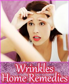 Having wrinkles on your face or on your body is a normal fact of life. You can accept it for what it is or do something about it. Instead of buying expensive creams and moisturizers, perhaps you can try some home remedies that have proven to be effective against wrinkles.
