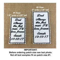 SKINNY TIE Wedding Tie Patch - Father of the Bride, Groom Tie Patch, Iron-On Tie Patch, Sew On Tie Patch, Father of the Bride Gift, Bride#skinnytiepatches #weddingaccessories #personalizedpatches #fatherofthebride #fatherofthegroom #weddingtiepatches