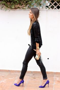 Seams for a desire: Sequined bomber