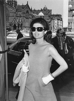 Jackie Kennedy: Such a classic style icon.