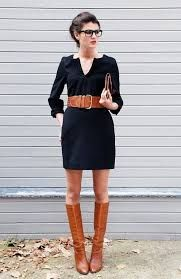 Image result for dress and boots 2017