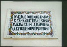 Azulejos portugueses ✿♥❀ Portuguese Language, Portuguese Tiles, Brazilian Portuguese, Portuguese Lessons, Visit Portugal, Sayings, Words, Quotes, Popular Proverbs