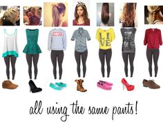 """""""Varied"""" by sarahzimmerling ❤ liked on Polyvore"""