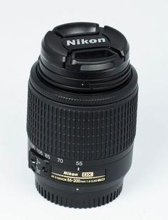 AF-S DX Zoom-Nikkor 55-200mm f/4-5.6G ED #Nikon