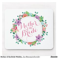 Elegant Just Married Floral Wedding Coaster , Personalized Note Cards, Personalized Wedding, Wedding Groom, Wedding Gifts, Wedding Coasters, Mr And Mrs Wedding, Custom Coasters, Simple Wedding Invitations, Custom Mouse Pads