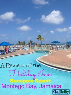 If you are looking for a great family resort in Jamaica, the Holiday Inn Sunspree Resort, Montego Bay is it. Check out our review here!