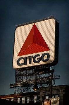 Citgo sign at Fenway Park Boston Red Sox image by StrongylosPhoto, $30.00