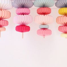 use sculptural origami decorations instead of garland for parties Origami Decoration, Paper Decorations, Fiestas Party, A Little Party, Idee Diy, Deco Design, Diy Party, Party Ideas, Party Planning