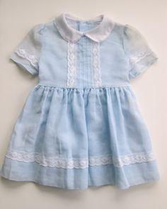 Vintage 50s pastel dress