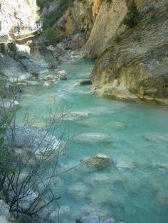 Alquezar - Ruta de las pasarelas por el río Vero