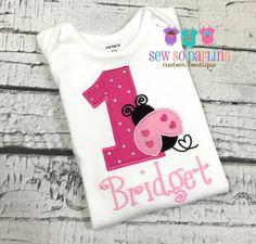 Baby Girl 1st Birthday Outfit  1st Birthday by SewSoDarling