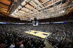 Breslin Center during the game between the New Orleans Privateers and the Michigan State Spartans on December 28, 2013 in East Lansing, Michigan. The Spartans defeated the Privateers 101-48. (Photo by Leon Halip/Getty Images)