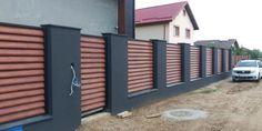 Fence Wall Design, Design Case, Fences, House Design, Garden, Outdoor Decor, Home Decor, Houses, Future House