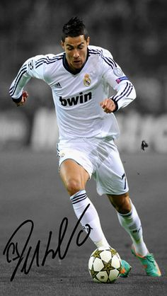 Cristiano ronaldo!  Got respect for him., even though he plays for my rival team.