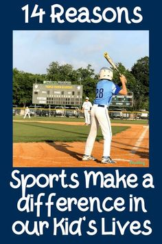 Pin Now! 14 Reasons Sports Make a Difference in Our Kid's Lives. Sports teach several life lessons that benefit our children. Mom Advice, Parenting Advice, Kids And Parenting, Best Blogs, Top Blogs, First Time Moms, Our Kids, Physical Fitness, Family Life