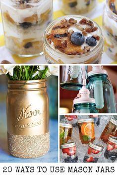 20 Creative Ways To Use Mason Jars - Mom Spark