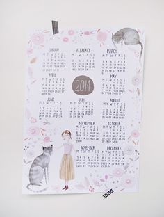 2014 Calendar by Julianna Swaney