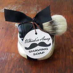 Paula Parrish: Whisk'er Away Shaving Set