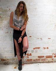 Bandit Skirt- LISP THE LABEL .boho rock