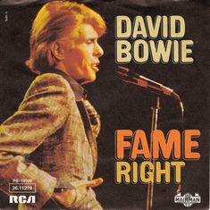 David Bowie scored his first US #1 single 'Fame' on this day in 1975, On the Billboard Hot 100.