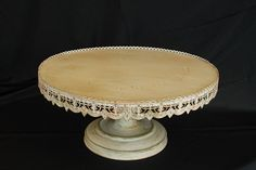 Antique Cake Stand 22""