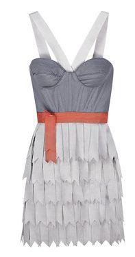 RICHARD NICOLL | Structured bodice dress