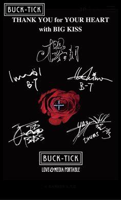 Big Kiss, Rock Posters, Ticks, Visual Kei, Goth, Wallpapers, Japanese, Music, Bands