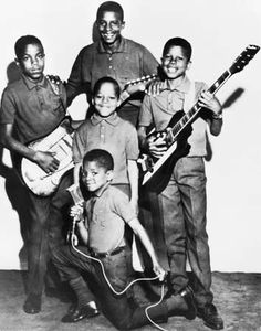 Throw back picture of the Jackson 5.