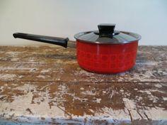 Modern Enamel Silit Saucepan Vintage by VintageShoppingSpree, $90.00