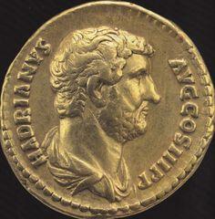 Roman Gold Aureus - Hadrian