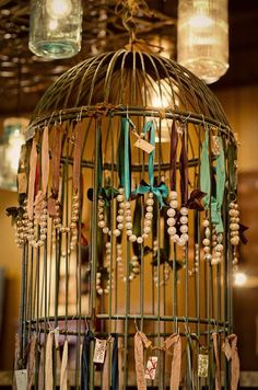 Jewelry display: Bella Vita via The Chintzy Chickadee