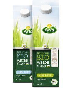 Arla BIO-Produkte Frische Bio Weidemilch
