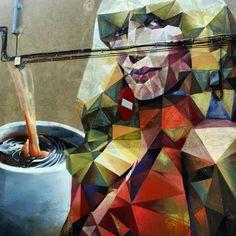 La dama de @uriginalbcn tomando café #barnart#stree2lab #dsb_graff #urbangraffitisbcn #rsa_graffiti#tv_streetart #splendid_urban#urbanromantix  #ig_barcelona #catalunyalliure #arteenlascalles #arteurbano #arteurbanobarcelona##dopeshotbro #vimural #arteenlascalles #artalcarrer  #tv_streetlife by fans_del_arte_urbano