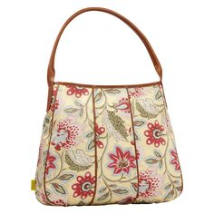 Amy Butler for Kalencom Muriel Fashion Tote Bag - Deco Blooms, Women's - AB117DECOBLOOM