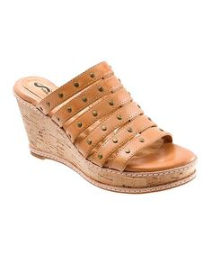 Another great find on #zulily! Natural San Fran Wedge Sandal #zulilyfinds